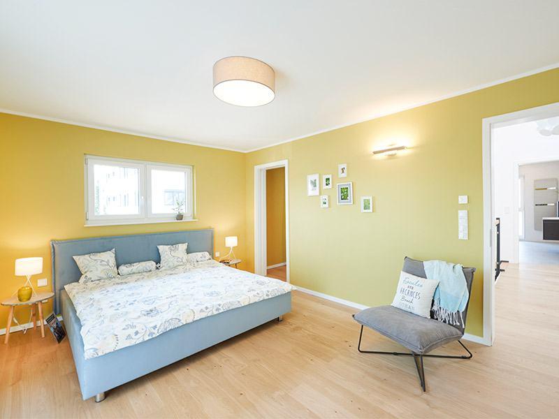 Musterhaus Stuttgart von Fingerhut Haus Schlafzimmer