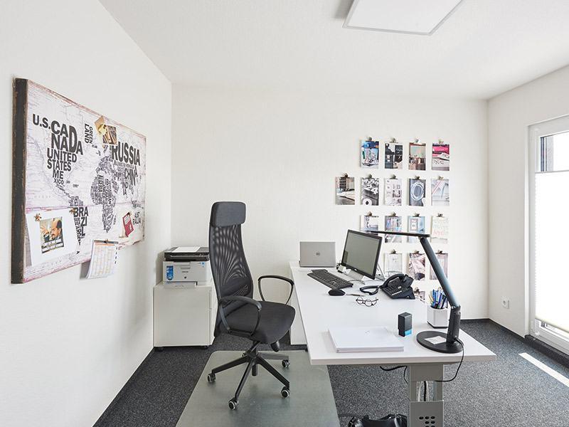 Entwurf Tasko von Fingerhut Haus Einzelbüro