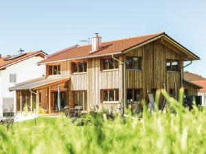 ökoloisch bauen mit Chiemgauer Holzhaus_Haus Würzburg