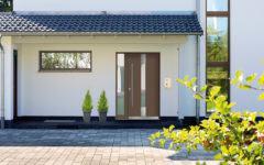 Haustür Kneer Holz Aluminium
