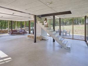 Design mit Beton, Treppe, Betonbild/Guido Erbring