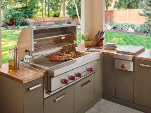 Gartenküche von Sub-Zero/Wolf