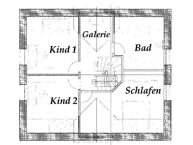 Grundriss Dachgeschoss Jaqueline von Christianus