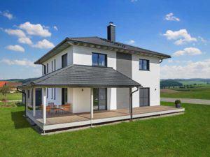 Stadthaus Bongart von Baufritz Terrasse