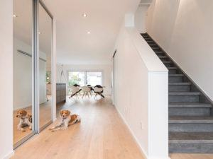 web-Edles Einfamilienhaus - frei geplant von Fingerhaus_Treppe