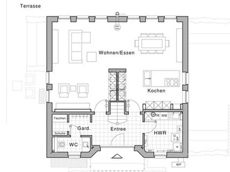 Grundriss Erdgeschoss Life in Kaarst von Viebrockhaus