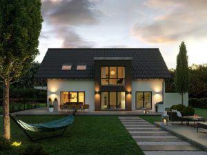 web_kern-haus-ag-zweifamilienhaus-extend-garten-abend-
