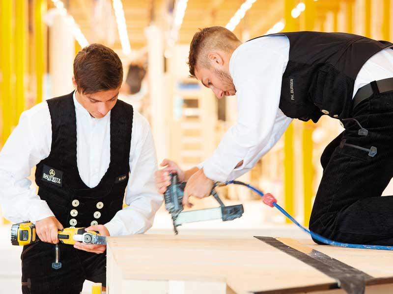 Vorteile Fertighaus Montagehalle Baufritz