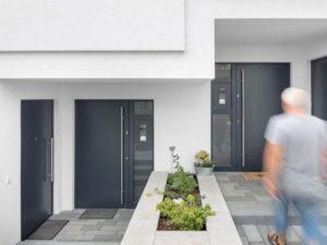 Mehrgenerationenhaus Beck von Bittermann & Weiss Eingang