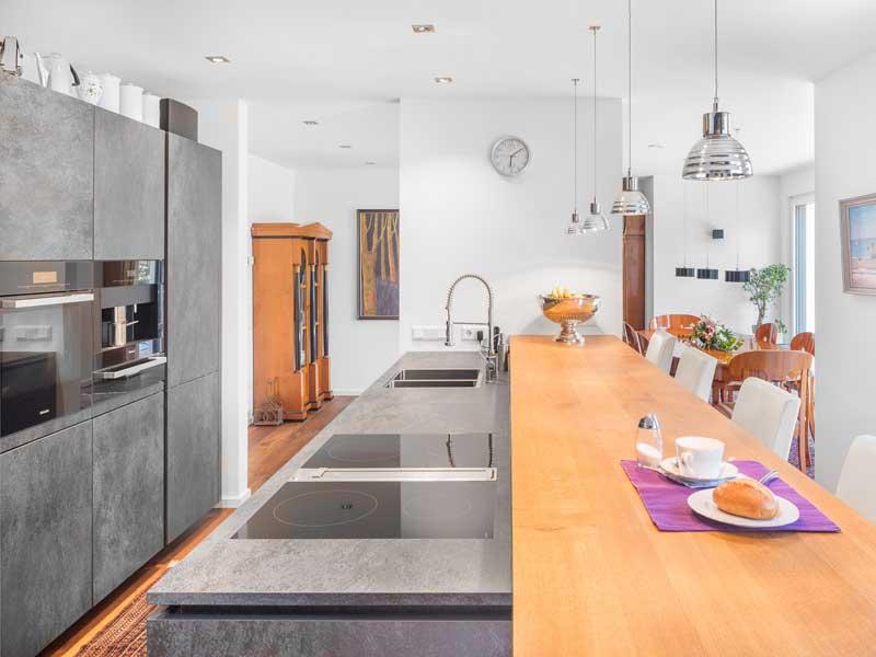 Kundenhaus Wiesentheid von Bittermann und Weiss Kochen Essen