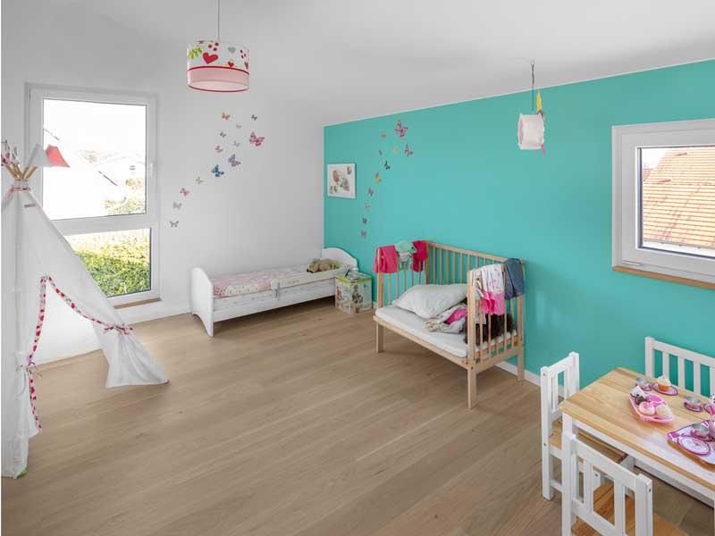 Kundenhaus Gruensfeld von Bittermann und Weiss Kinderzimmer