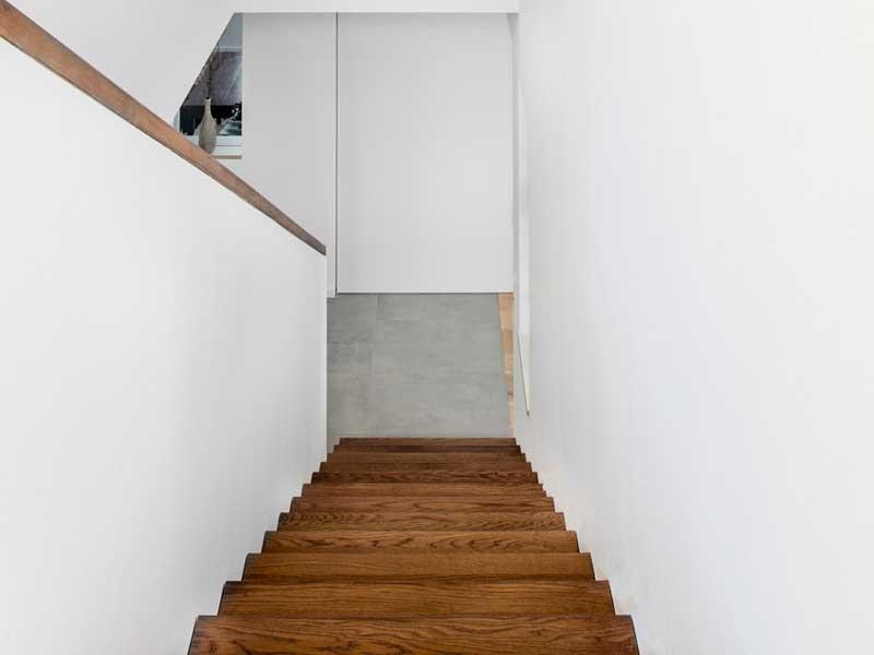 Kundenhaus Lahr von Bittermann und Weiss Treppe