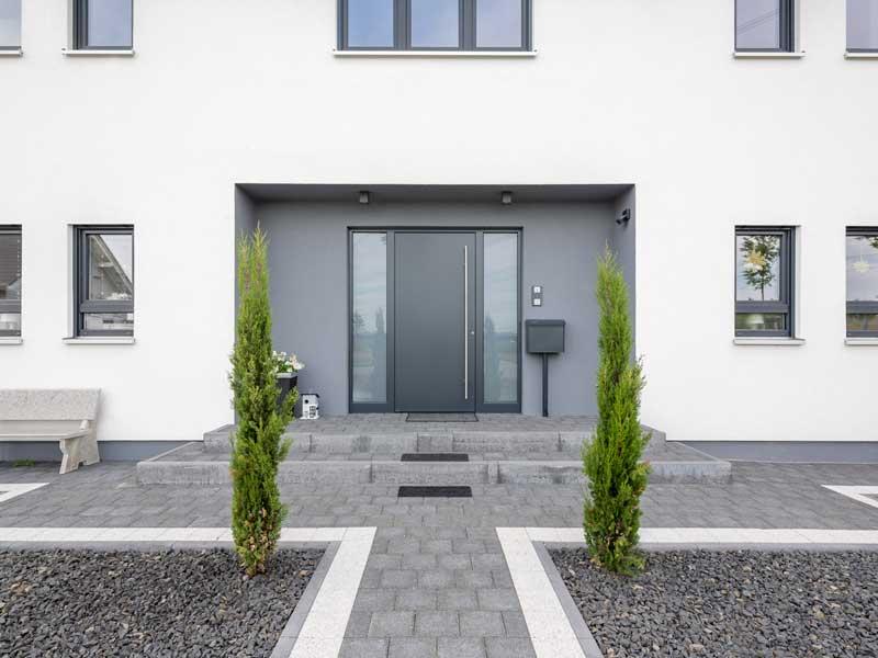 Kundenhaus Lampertheim von Bittermann und Weiss Eingang