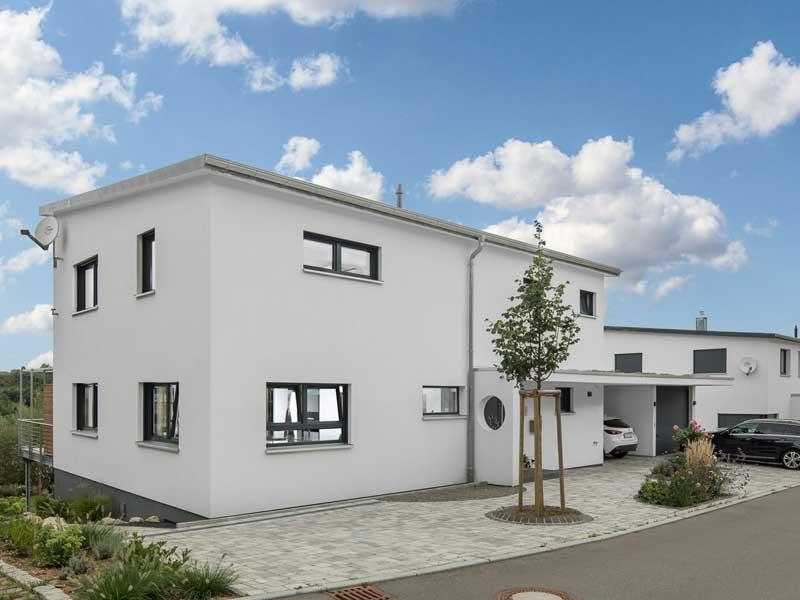 Kundenhaus Neuffen von Bittermann & Weiss Eingang