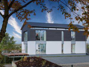 Musterhaus Gerchsheim von Bittermann und Weiss Eingang