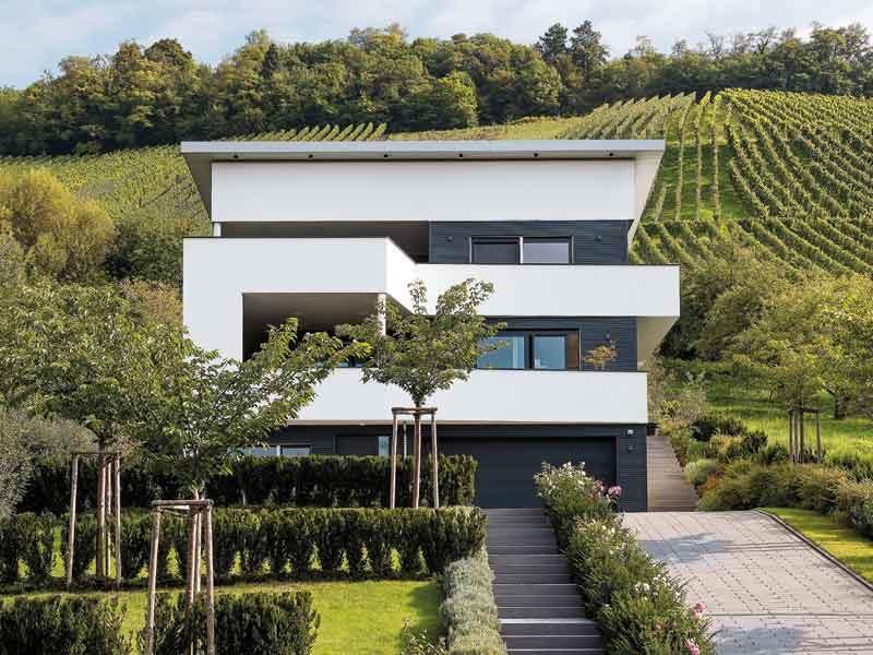 moderne Architektur Kundenhaus Walser Schwörerhaus