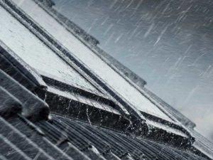 Lärmschutz Fenster Velux Regen