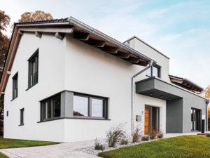 Musterhaus Bad Vilbel von Fingerhut -Außenansicht