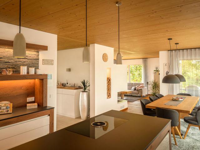 Kundenhaus Freiensteinau von Bittermann & Weiss Holzhaus. Wohnen