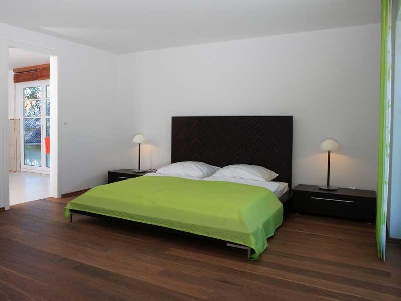 Musterhaus Fellbach von Bodenseehaus Schlafen