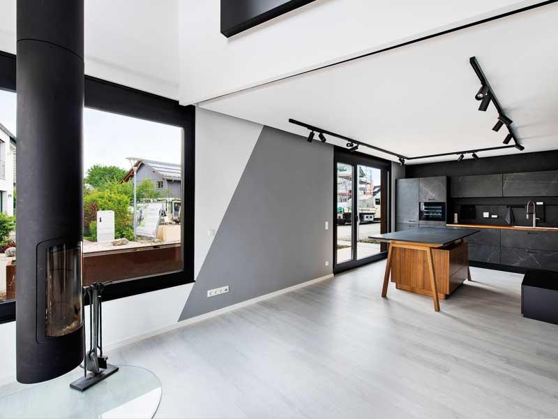 Musterhaus Space von Deutsche Hausmanufaktur Wohnen Kochen