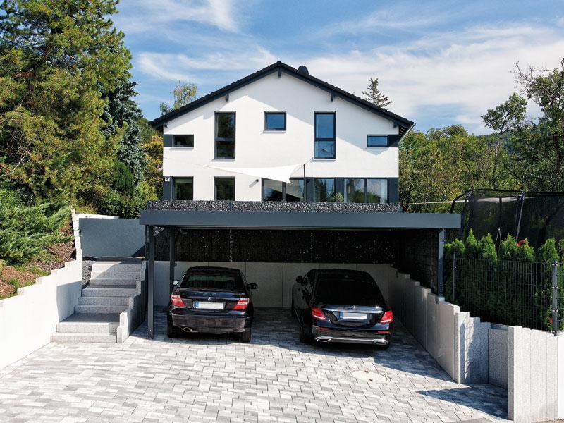 Familienhaus Jäger von Bien-Zenker Garage