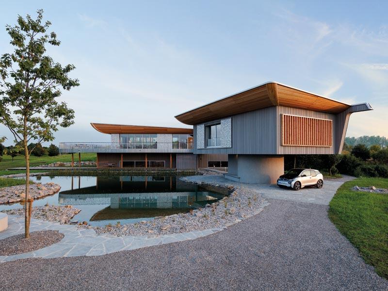 Architektenhaus vom Schweizer Designer Alfredo Häberli