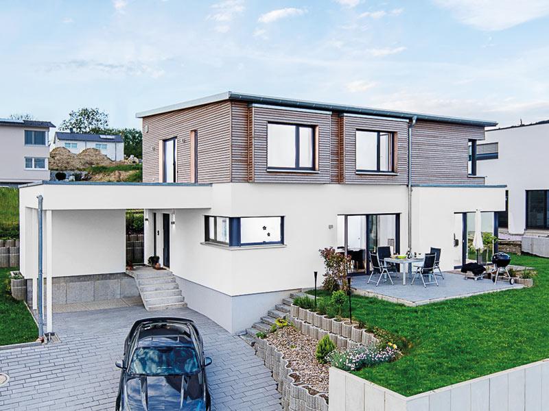 Selbst geplantes Architektenhaus
