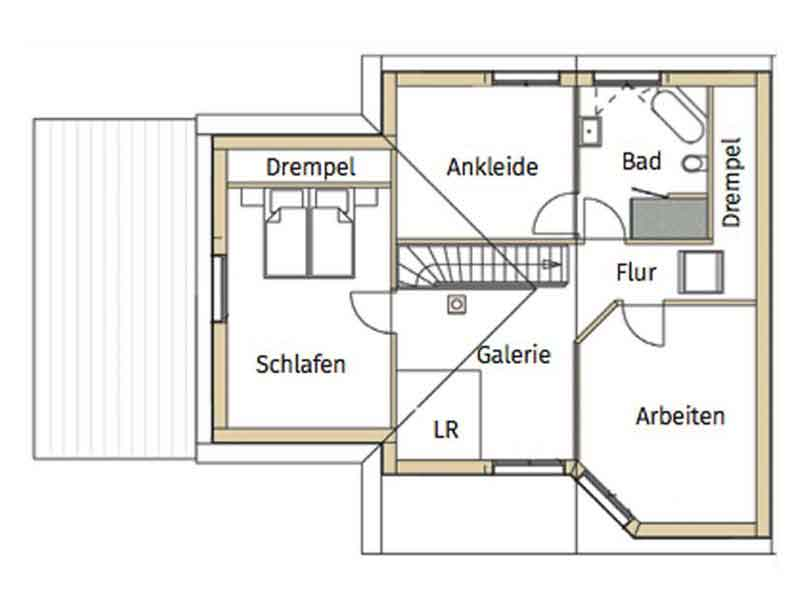 Grundriss Obergeschoss Design 171 Schumacher von Frammelsberger