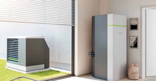 Luft-Wasser-Wärmepumpe x-change dynamic