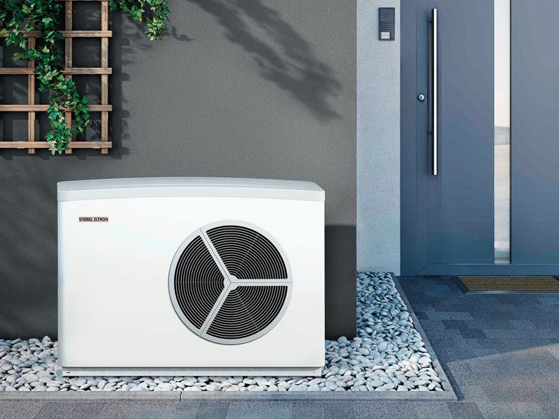 Luft-Wasser-Wärmepumpe für außen