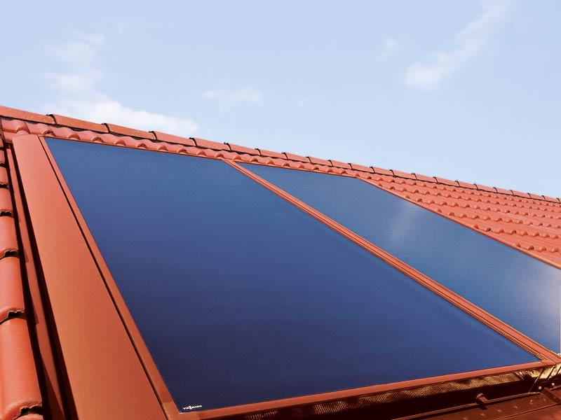 Solarkollektoren zur Wärmegewinnung