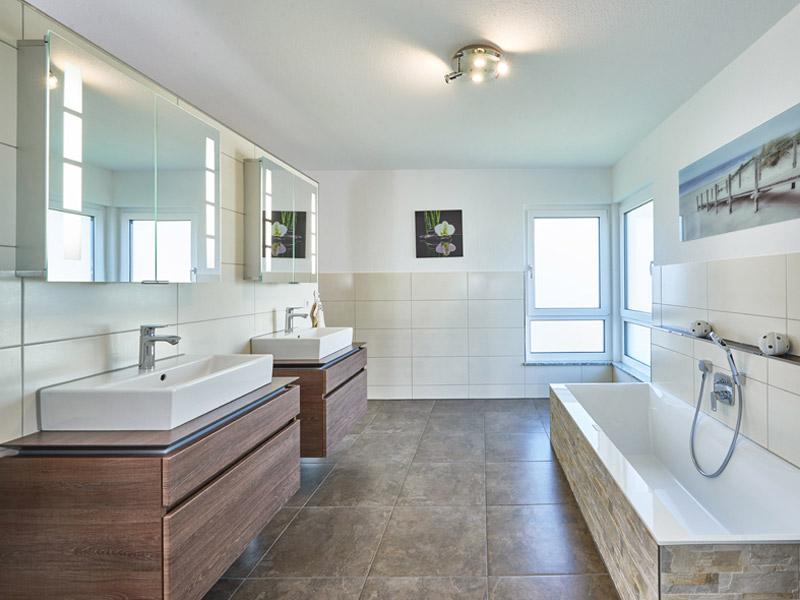 Badezimmer im Haus Haberer