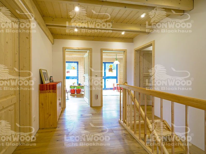 Blockhaus Lapin-Kulta von Leonwood - Flur