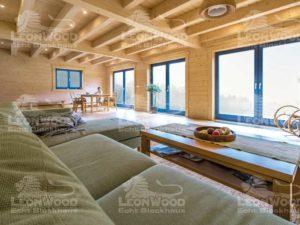 Blockhaus Lapin-Kulta von Leonwood-Wohnzimmer