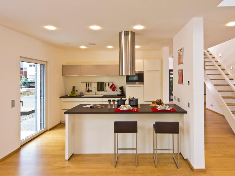 Küche im Musterhaus Future