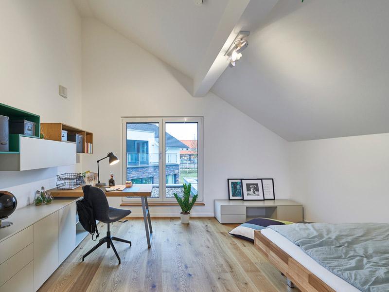 Jugendzimmer im Musterhaus Günzburg