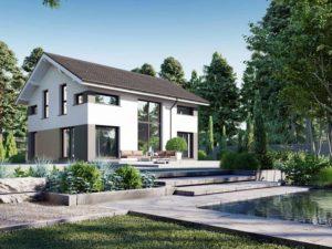 Modell Point 140 Danwood Terrasse