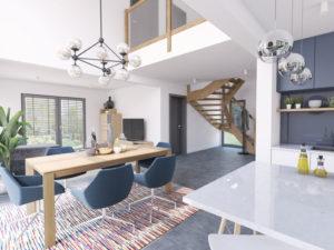 Modell Point 140 Danwood Galerie Treppe