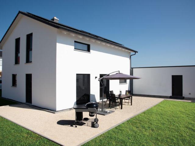 Living-Haus Kundenhaus Mikula Langner Terrasse