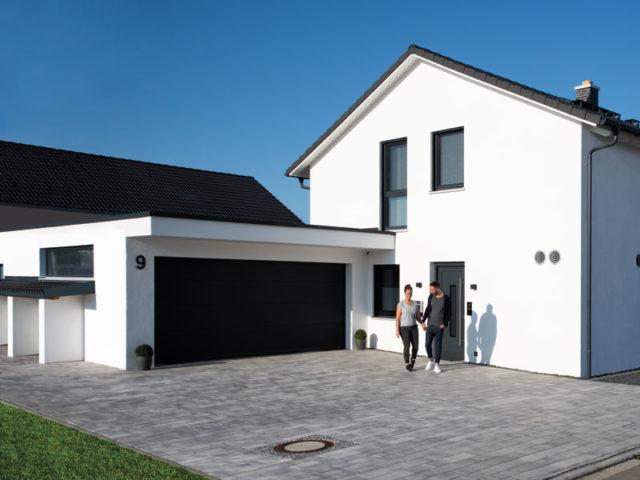 Living-Haus Kundenhaus Mikula Langner Eingang