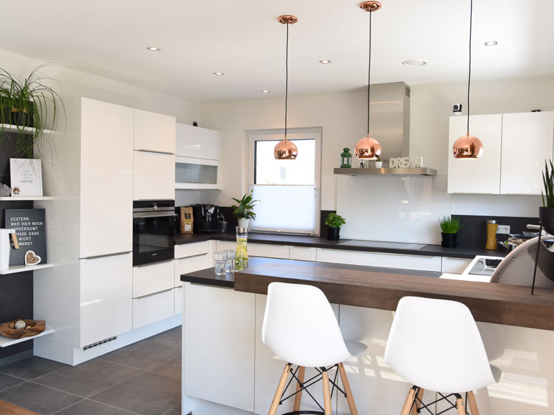 Living-Haus Kundenhaus Mikula Langner Kochen