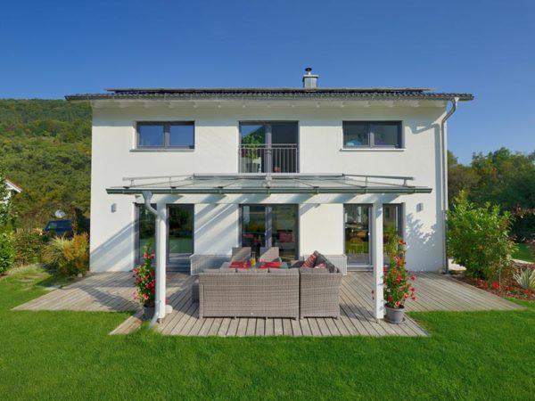Haus Mühlwiesen Keitel Haus aussen Terrasse