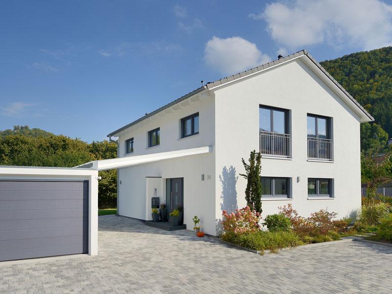 Haus Mühlwiesen Keitel Haus Eingang Garage