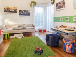 Luxhaus Pultdach Klassik 233 Kinderzimmer