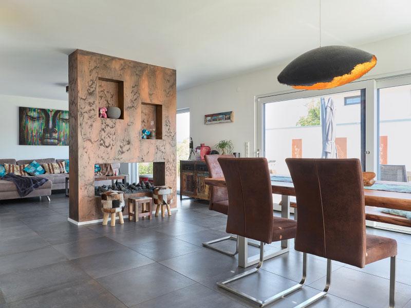 Luxhaus Satteldach Landhaus 126 essen wohnen