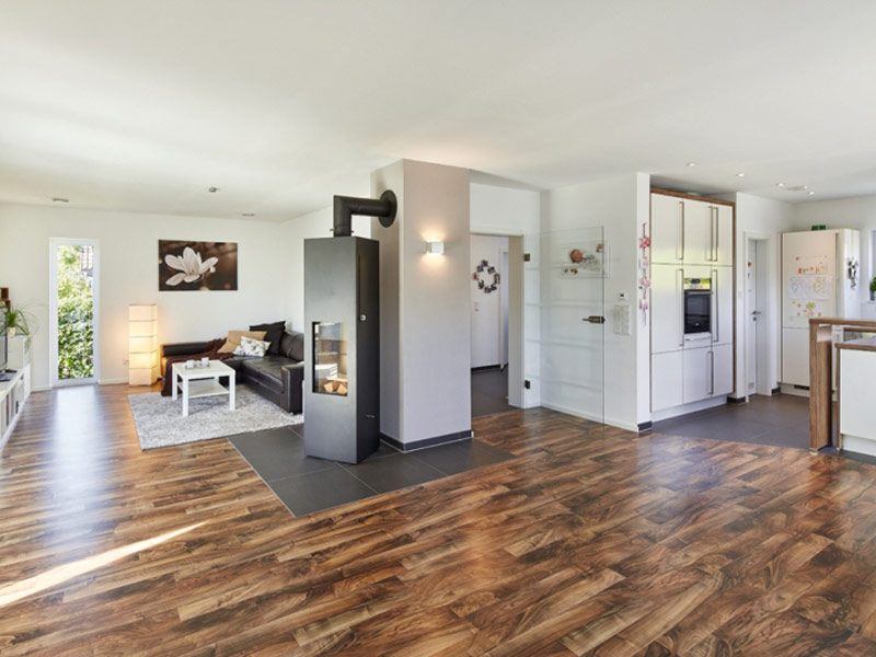 Luxhaus Satteldach Landhaus 143 wohnen kochen