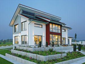 Außenansicht Musterhaus Style