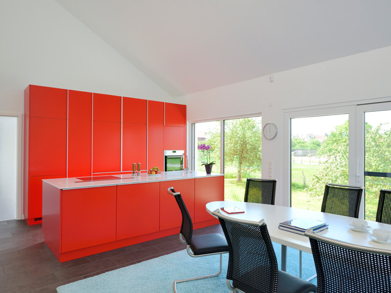 Küche im Haus Jäger