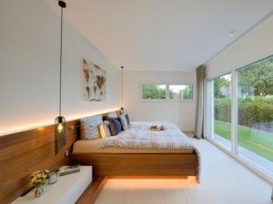 Musterhaus Vita von Fertighaus Weiss Schlafzimmer
